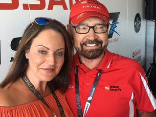 Lisa D at the Clipsal 500