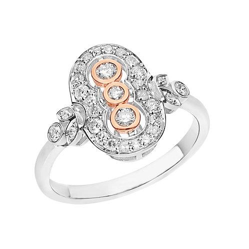 """""""Keira"""" Diamond Ring"""