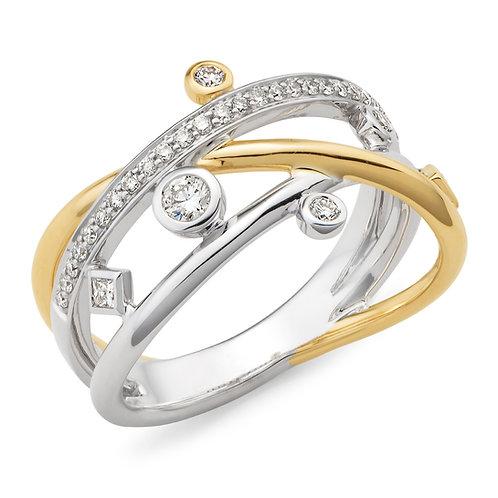 """Galaxy"" Diamond Dress Ring"