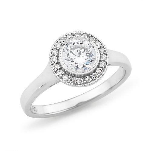 """""""Rebekah"""" Diamond Engagement Ring"""