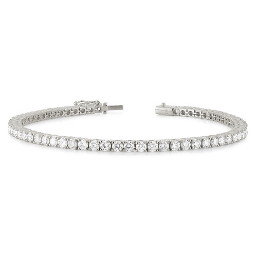 """Stephanie8"" Diamond Tennis Bracelet"
