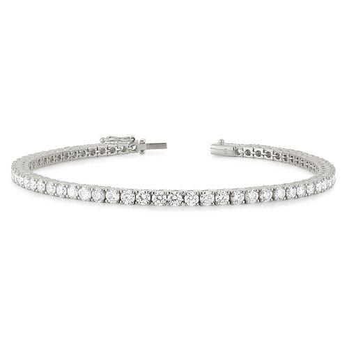 """""""Stephanie5"""" Diamond Tennis Bracelet"""