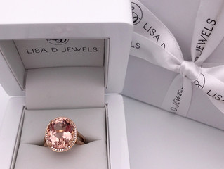 """Mary"" Morganite Ring"