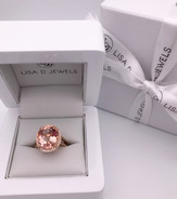 """""""Mary""""Morganite Cocktail Ring"""