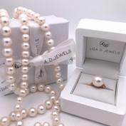 'Aphrodite' Pearl Ring