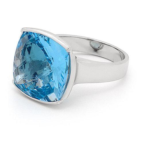 """""""Skye"""" Blue Topaz Dress Ring"""