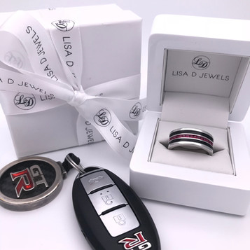"""Monaco"" Gents Supercar Inspired Ring"