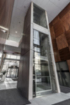 GRC, Concrete slabs elevator