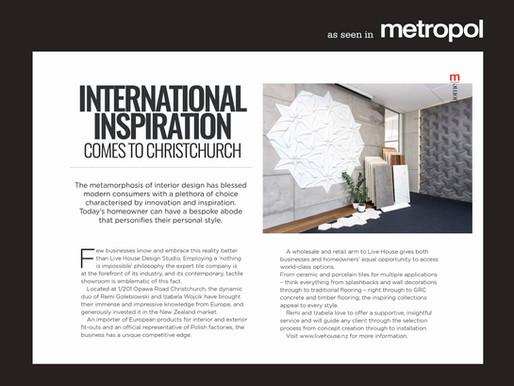 International Inspiration Comes to Christchurch