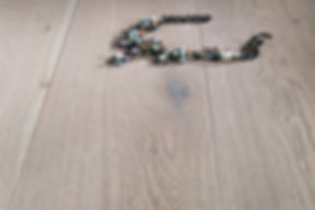 Natural Oak Engineered Timber Flooring with Necklace