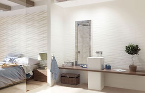 Bathroom And Bedroom Design With Ceramic Wall Tile Collection Paradyz Elia