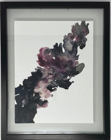 ALCOHOL INK PAINTING 0003 by Kristen Faye Designs