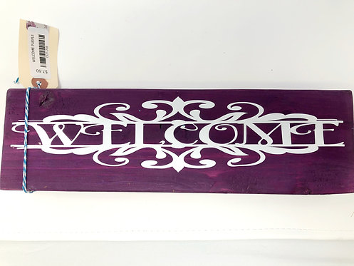 WELCOME SIGN by Once Upon A Time Designs