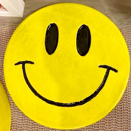 HAPPY FACE STEPPING STONE by My Time Crafts