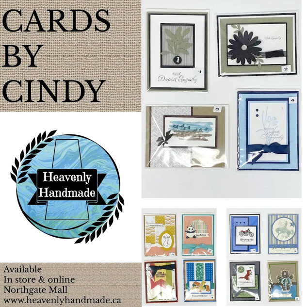CARDS BY CINDY