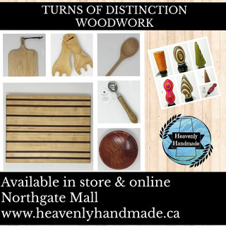 TURNS OF DISTINCTION WOODWORK