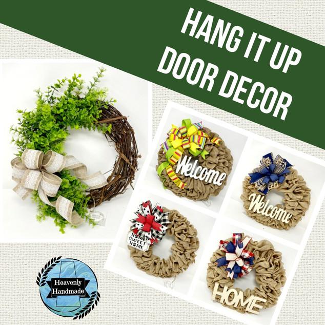 HANG IT UP DOOR DECOR