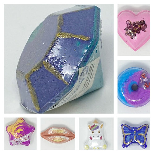 SHAPED BATH BOMBS by KC&D Soap Shop