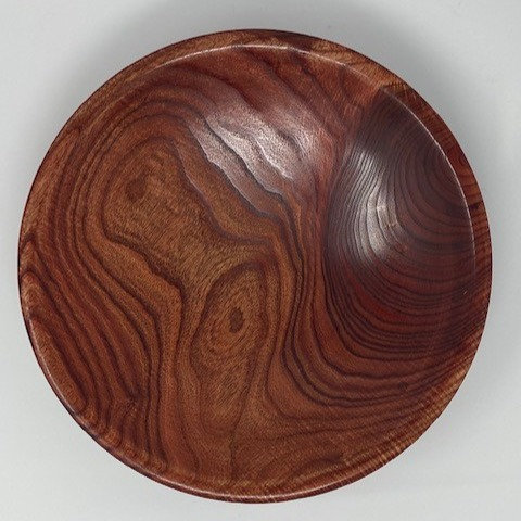 CATALPA BOWL by Turns of Distinction Woodwork