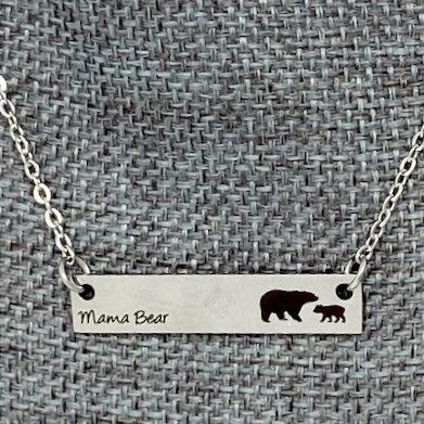MAMA BEAR NECKLACES by Corso Custom Jewelry