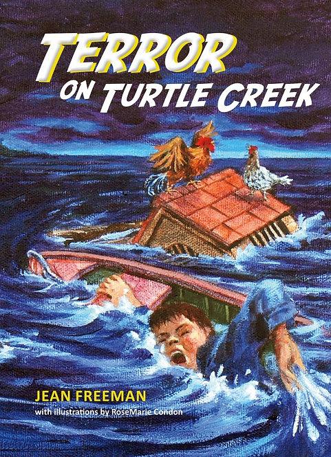 TERROR ON TURTLE CREEK by Jean Freeman