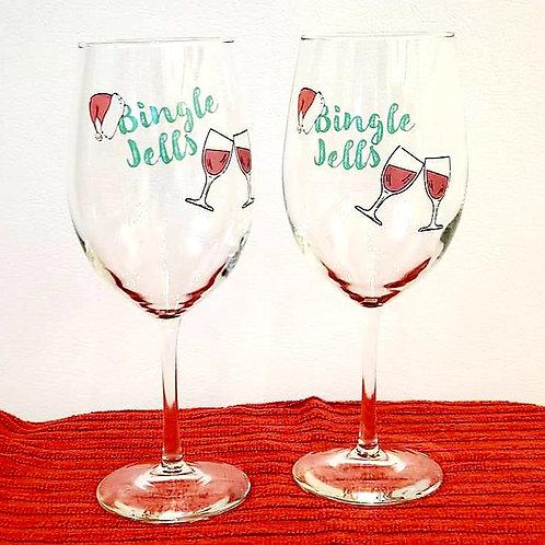 WINE GLASSES by Glazed Elegance
