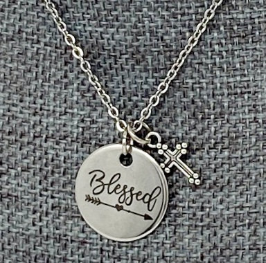 BLESSED NECKLACE by Corso Custom Jewelry