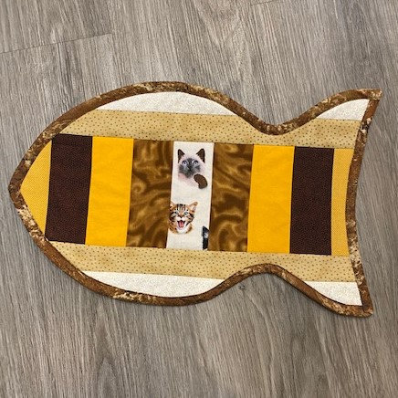 CAT PLACE MAT by Small Wonders