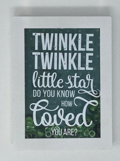 TWINKLE TWINKLE SHADOWBOX 5X7