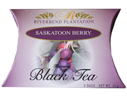 SASKATOON BERRY TEA by Riverbend Plantation