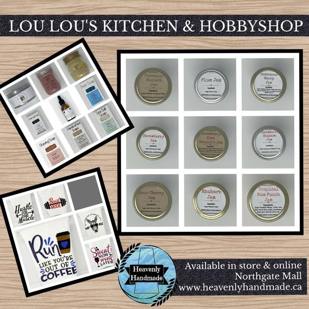 LOU LOU'S KITCHEN & HOBBYSHOP
