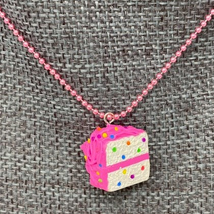 CAKE CHARM NECKLACES by Sweet Charmed Life