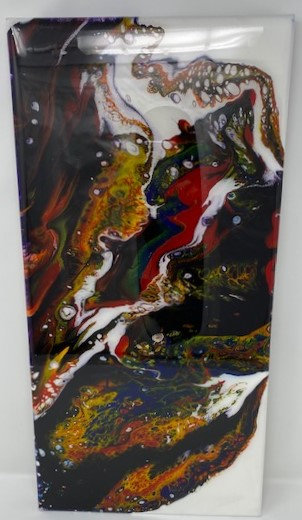 COLORS ACRYLIC POUR PAINTING by Louise Fedirko