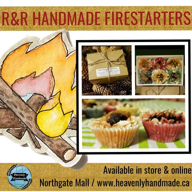 R&R HANDMADE FIRESTARTERS