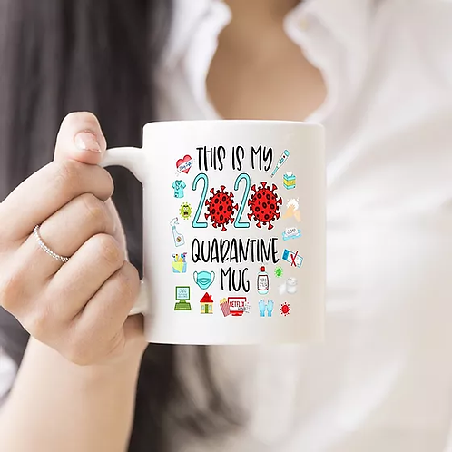2020 QUARANTINE MUG by Belle Designs
