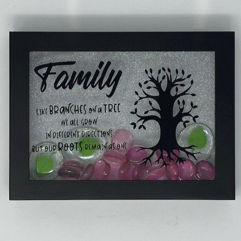 FAMILY ROOTS SHADOWBOX 5X7