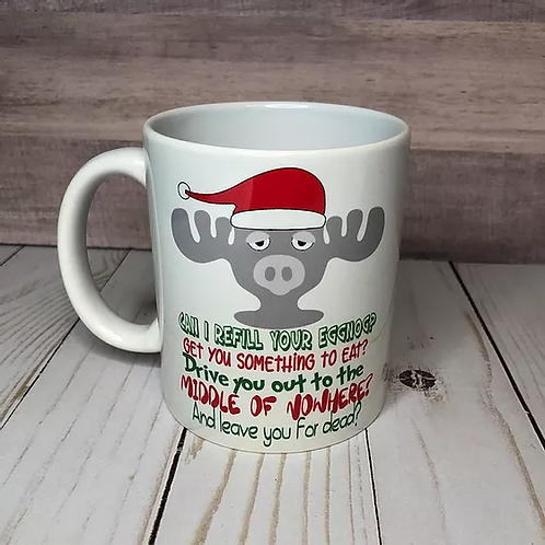 CHRISTMAS VACATION MUGS by Belle Designs