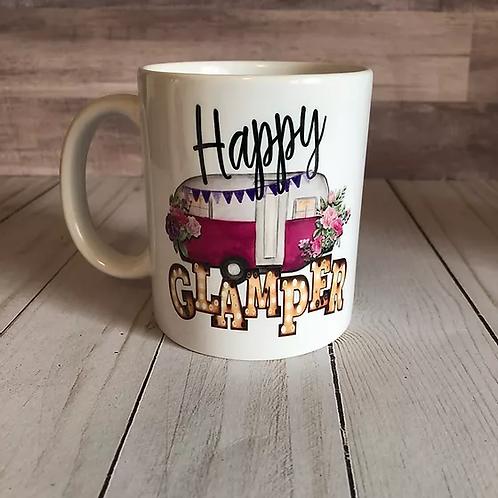 HAPPY GLAMPER MUG by Belle Designs