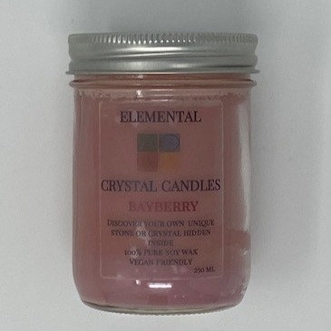 GLASS JAR CANDLES by LouLou's Kitchen