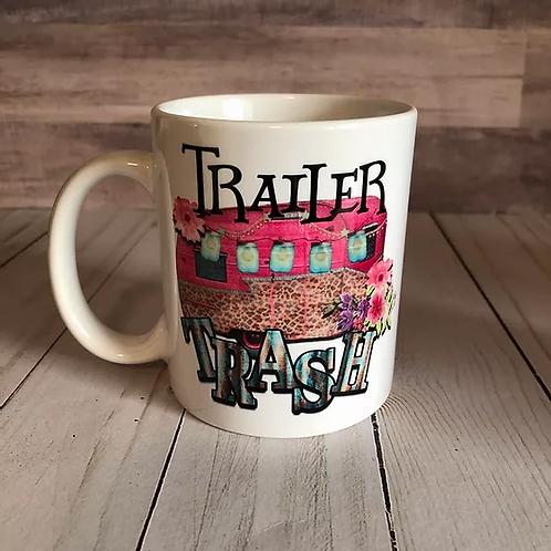 TRAILER TRASH MUG by Belle Designs