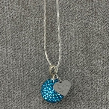 SPARKLY BALL (12mm) NECKLACES by Caleigh's Crystals