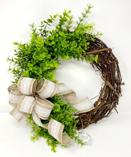 GREENERY VINE WREATH by Hang It Up Door Decor