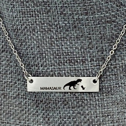 MAMASAUR NECKLACES by Corso Custom Jewelry