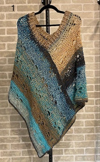 PONCHOS by Hooked By Donean