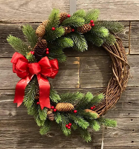 HOLIDAY WREATHS by Hang It Up Door Decor
