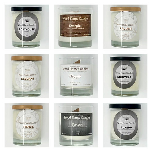 WOOD WICK CANDLES by Wood Flame Candles Ltd