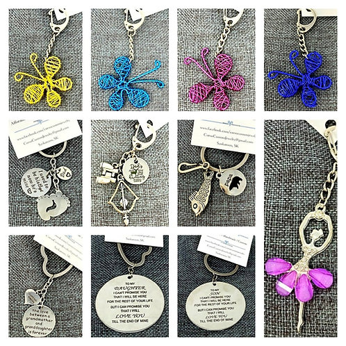 KEYCHAINS by Corso Custom Jewelry