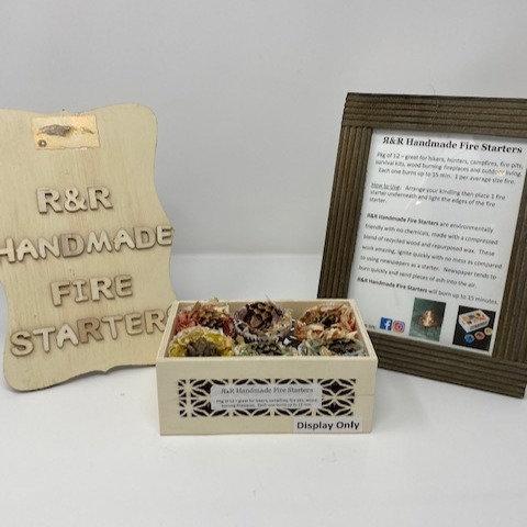 FIRE STARTERS by R&R Handmade Fire Starters