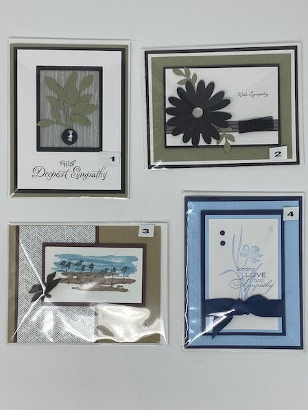 SYMPATHY CARDS by Cards By Cindy