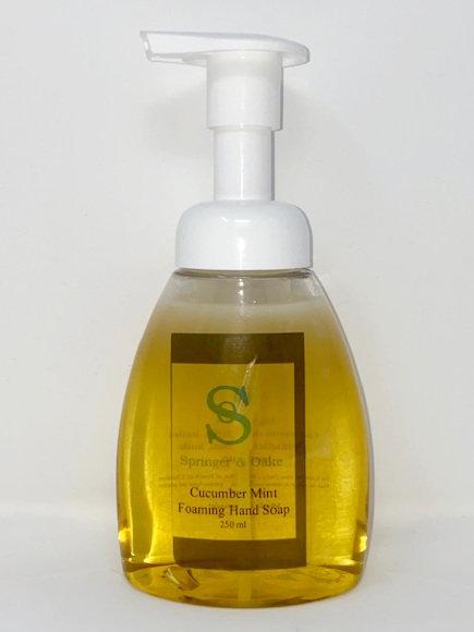 FOAMING HAND SOAP by Springer & Oak